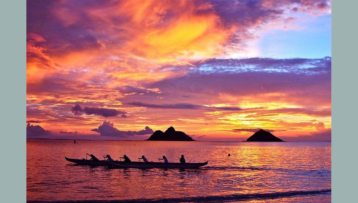 Lanikai Morning canoe.jpg